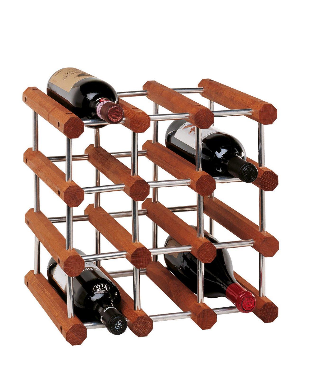 Portabottiglie belli da lasciare a vista cose di casa for Portabottiglie vino fai da te
