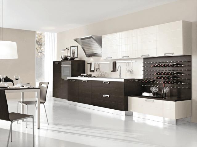 cucine con cappa grande moderne e classiche cose di casa. Black Bedroom Furniture Sets. Home Design Ideas
