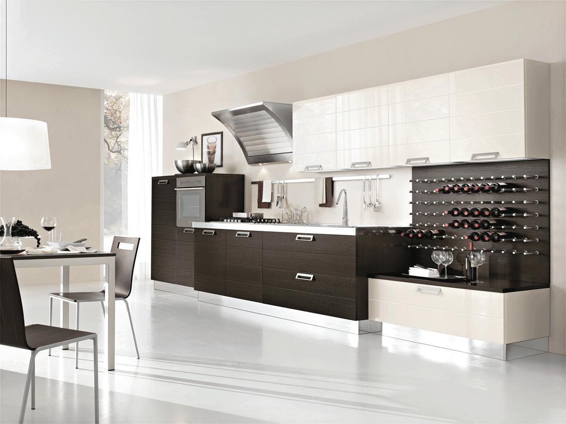 Cucine con cappa grande moderne e classiche cose di casa - Cucine lineari classiche ...