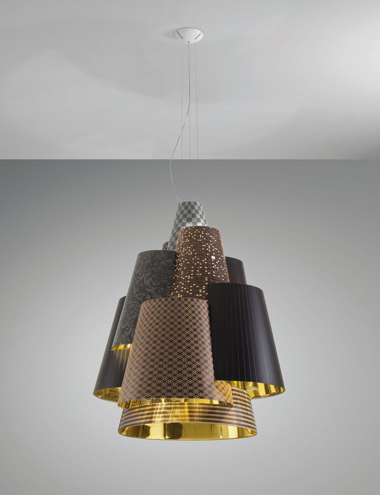 Euroluce 2015: lampadari a sospensione al Salone del ...