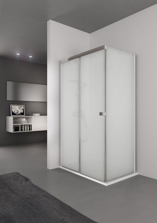 Grandform la doccia si trasforma in una spa cose di casa - Vetri per doccia ...