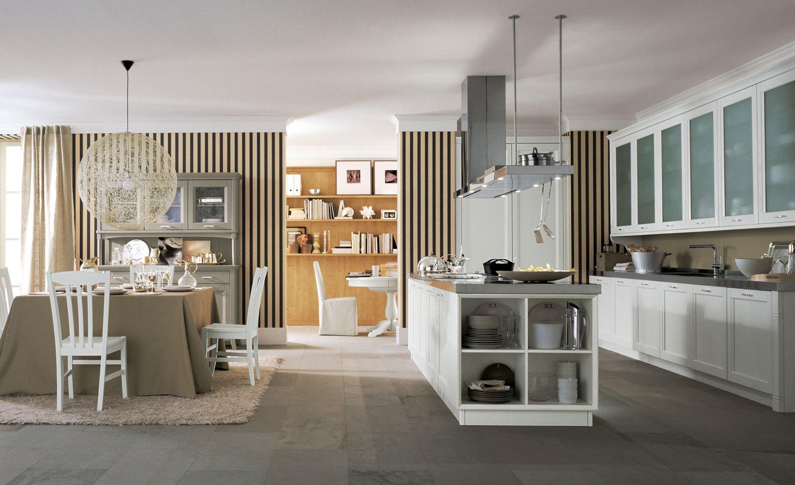 Cucine a isola: un blocco centrale che coniuga estetica e ...