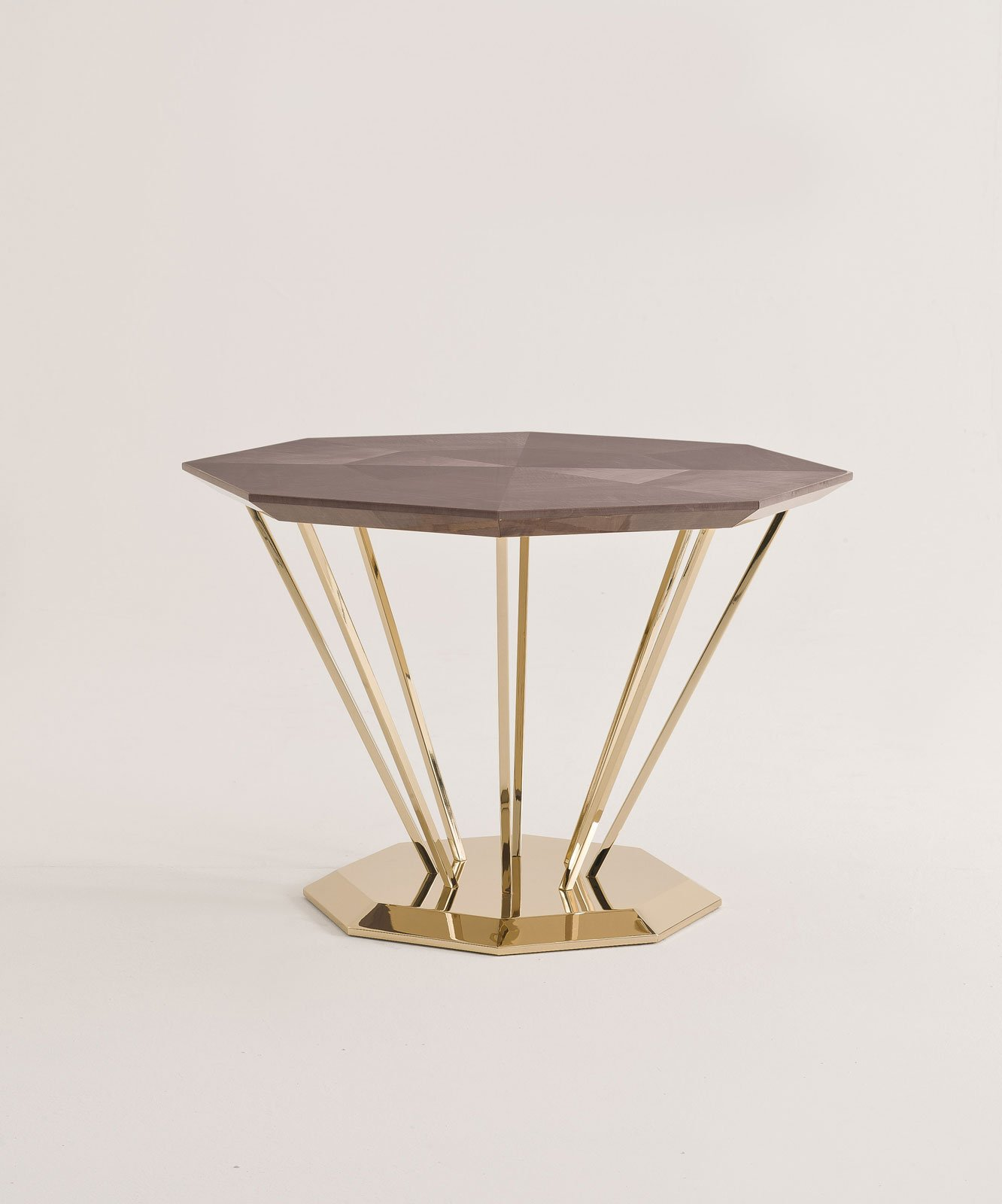 Design week i nuovi tavolini alla fiera di milano cose - Tavolini vetro e ottone ...