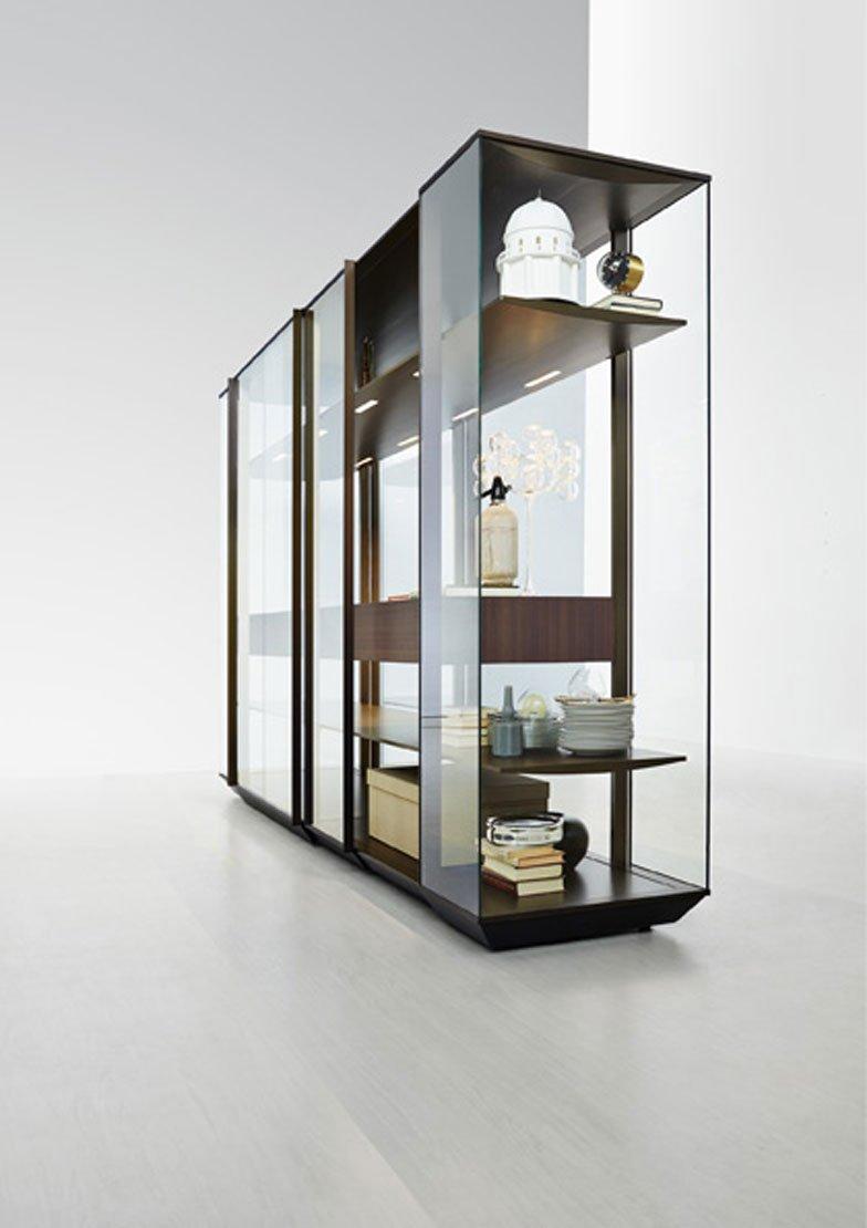 Composizione camera da letto viola - Librerie da camera ...