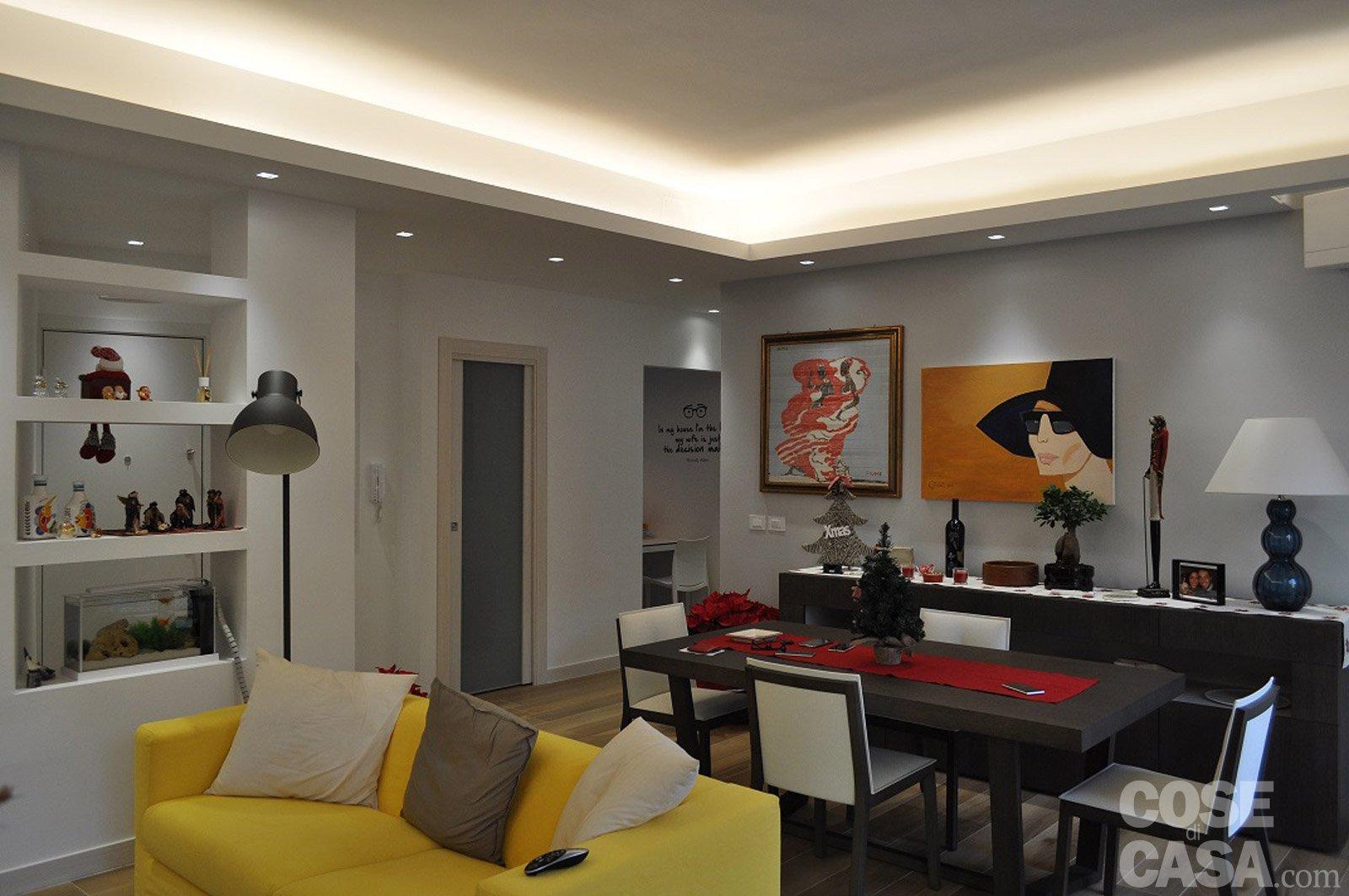 90 mq una casa da vivere in relax cose di casa for Immagini di appartamenti ristrutturati
