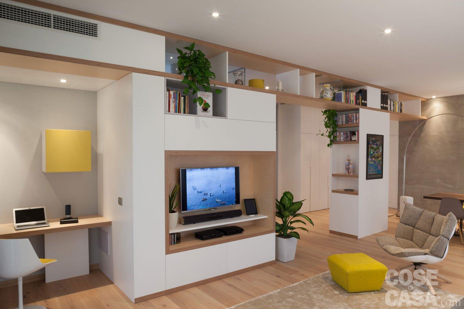 Maxi trilocale design e ispirazioni scandinave per la for Progetti appartamenti moderni