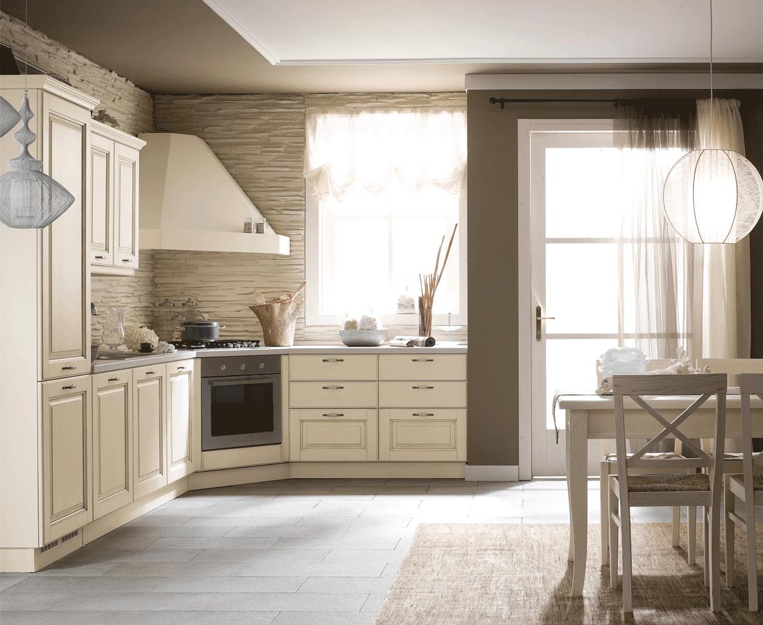 Memory Di Veneta Cucine Ha Uno Stile Tradizionale Sottolineato Dalle  #8B5C40 1100 902 Foto Di Cucine In Stile Provenzale