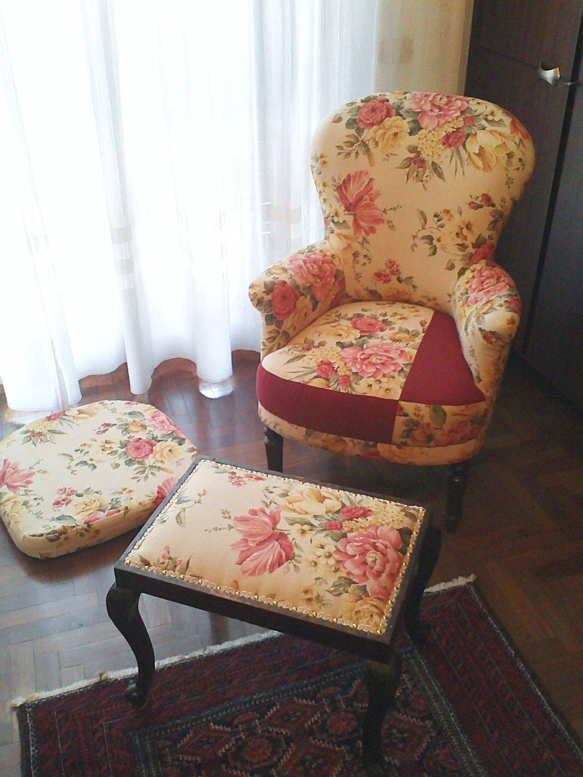 Come rivestire una sedia di legno top come rivestire una - Tappezzare una sedia ...