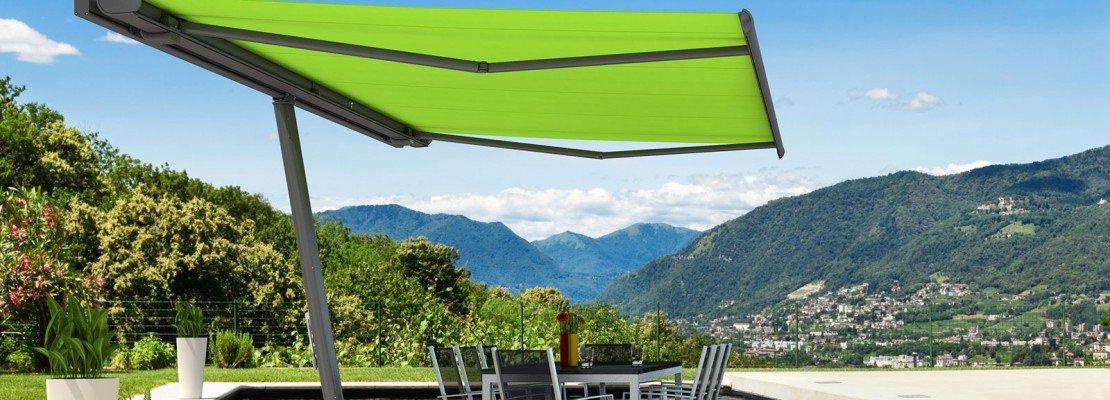 Tende e protezioni per il sole per una stanza in pi all for Costruire una stanza all aperto