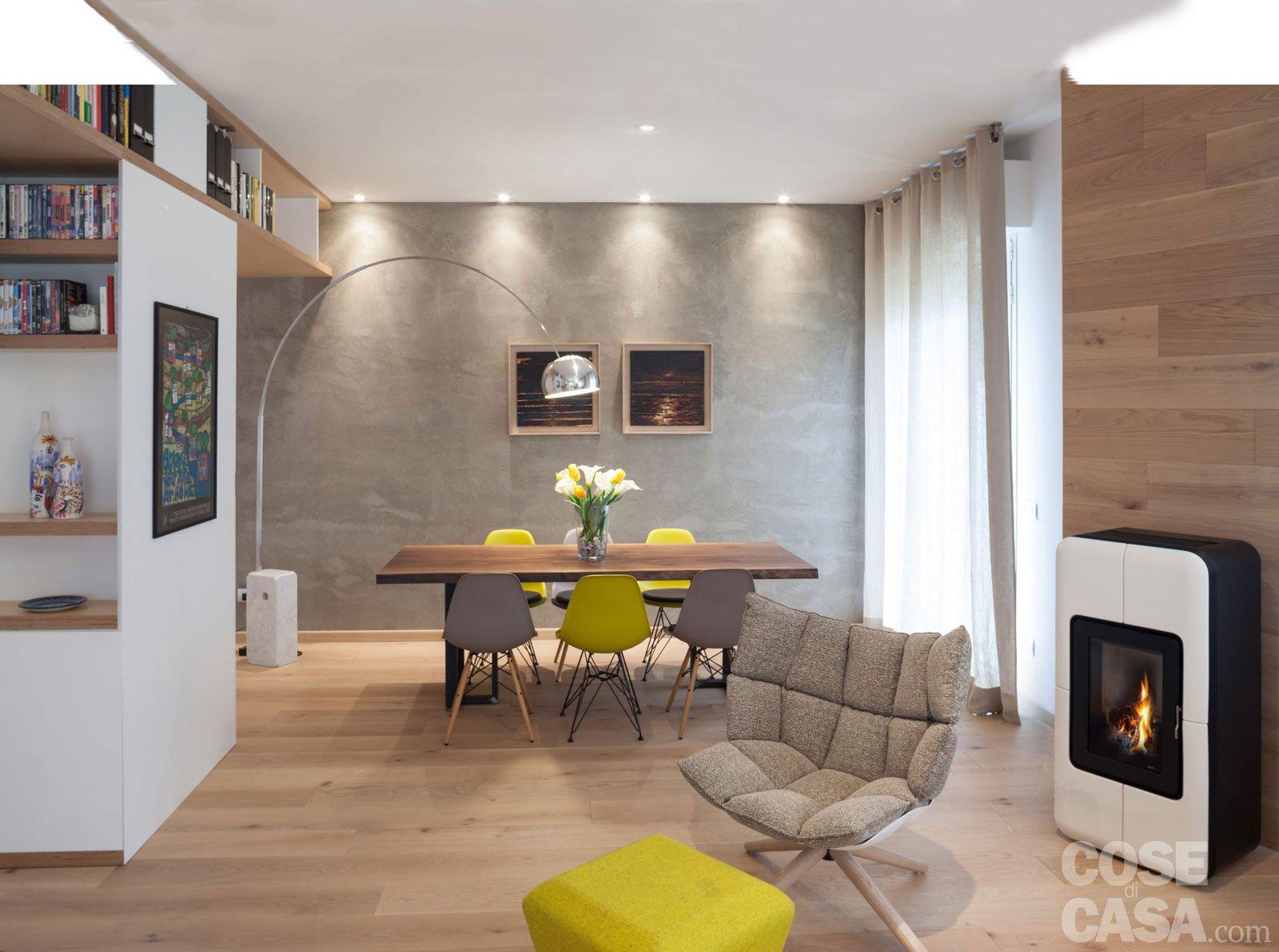 Maxi trilocale design e ispirazioni scandinave per la - Casa in cartongesso ...