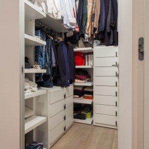 95 mq una casa con pi spazio e pi luce grazie alla for Cabina di 300 piedi quadrati