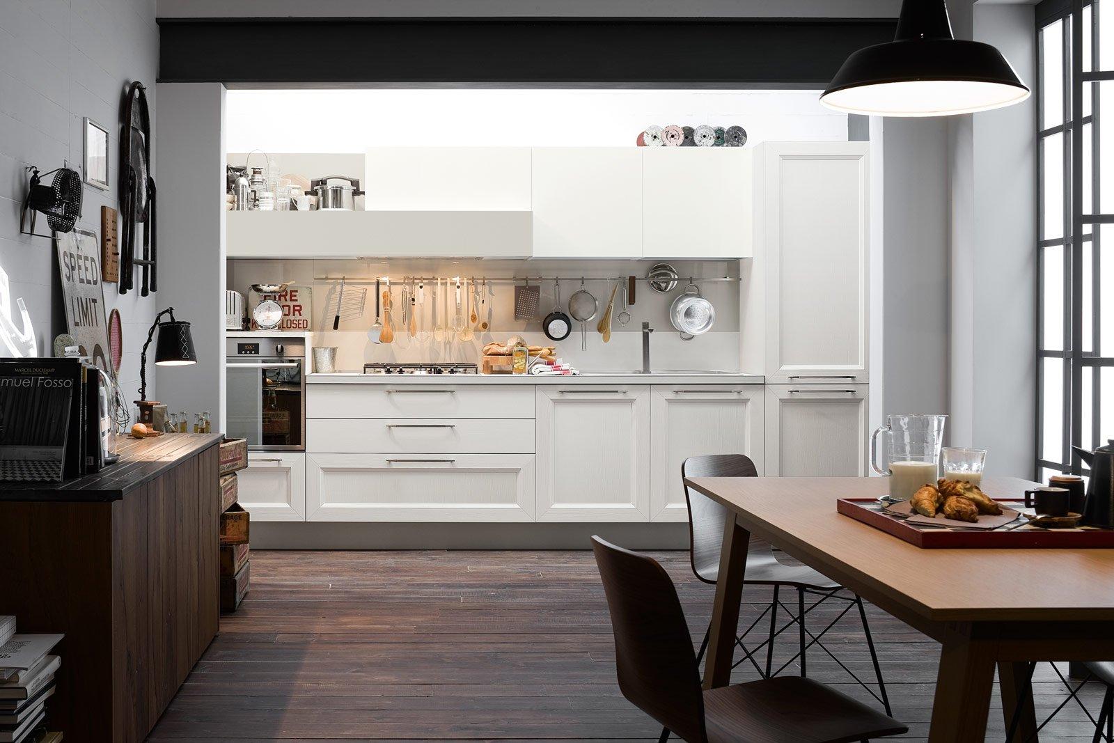 Cucine effetto legno per un ambiente caldo ed elegante cose di casa - La veneta cucine ...