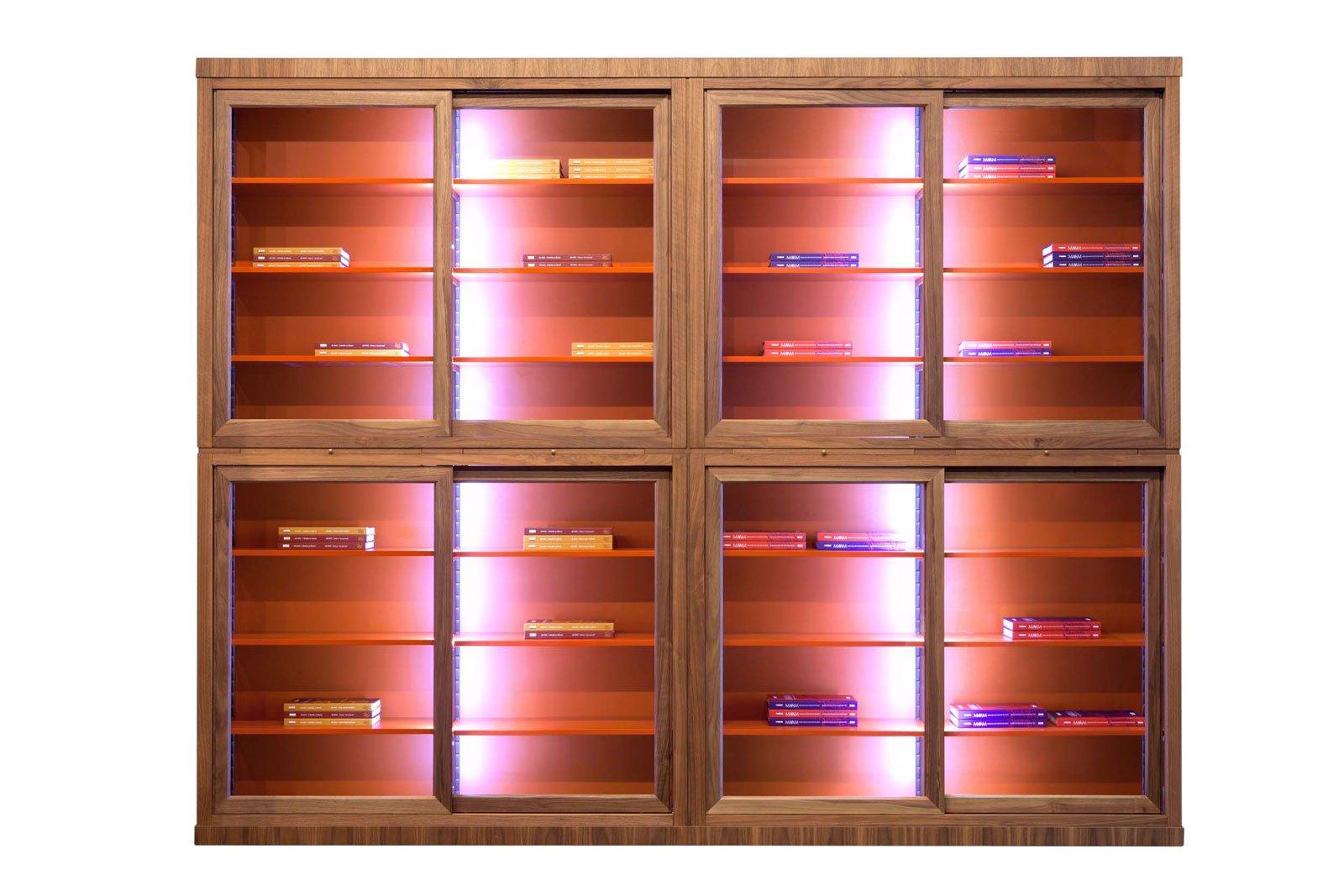 librerie e vetrine al salone internazionale del mobile 2015 - cose ... - Vetrine Per Soggiorno Moderno