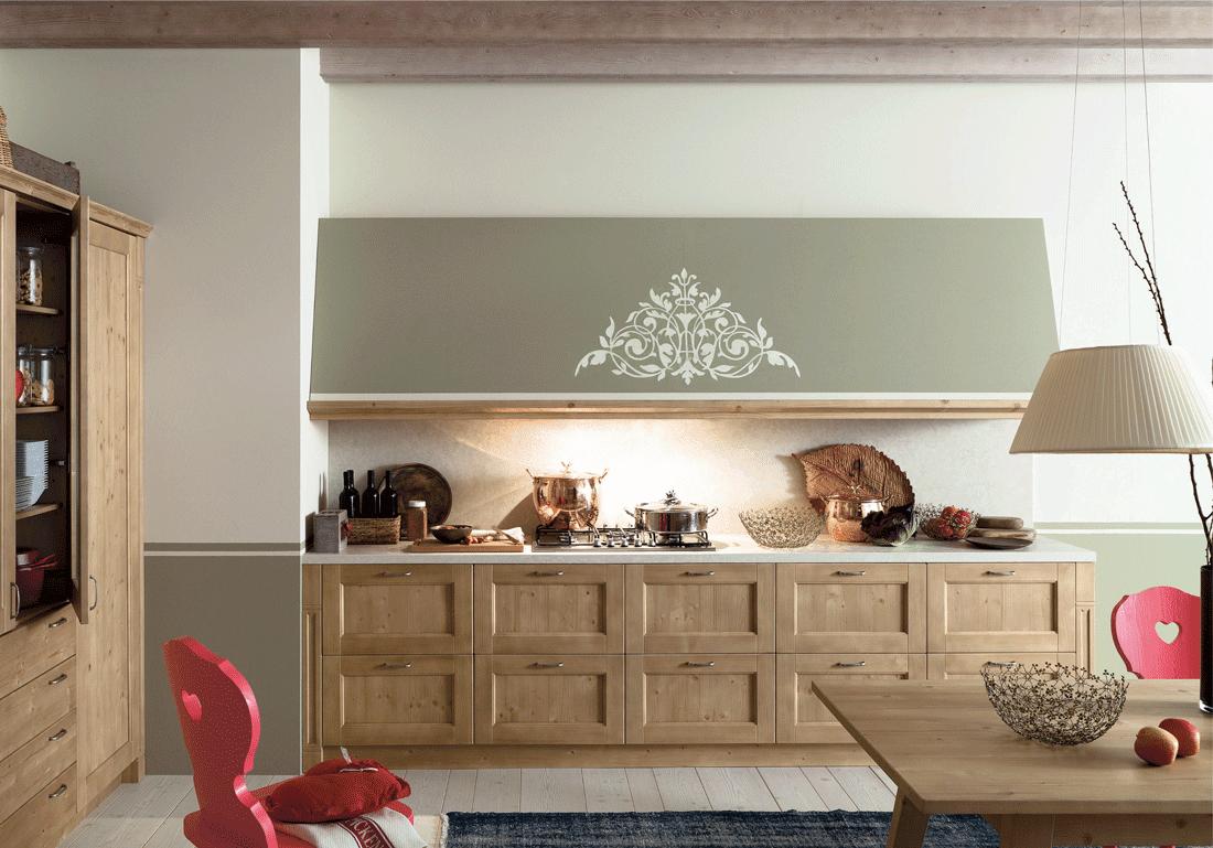 Casabook immobiliare cucine con cappa grande moderne e for Cappa cucina design