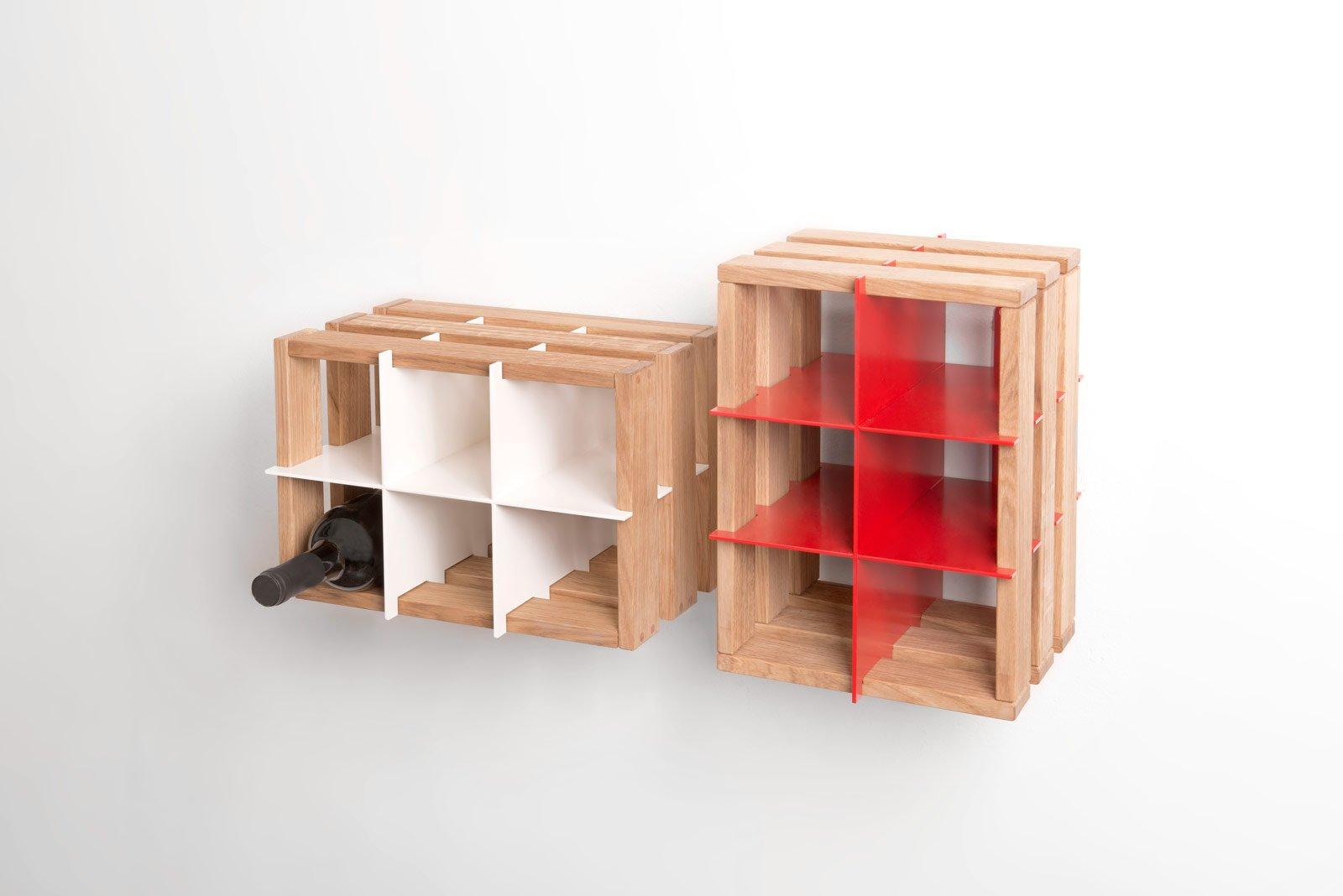 Portabottiglie belli da lasciare a vista cose di casa - Portabottiglie in legno fai da te ...