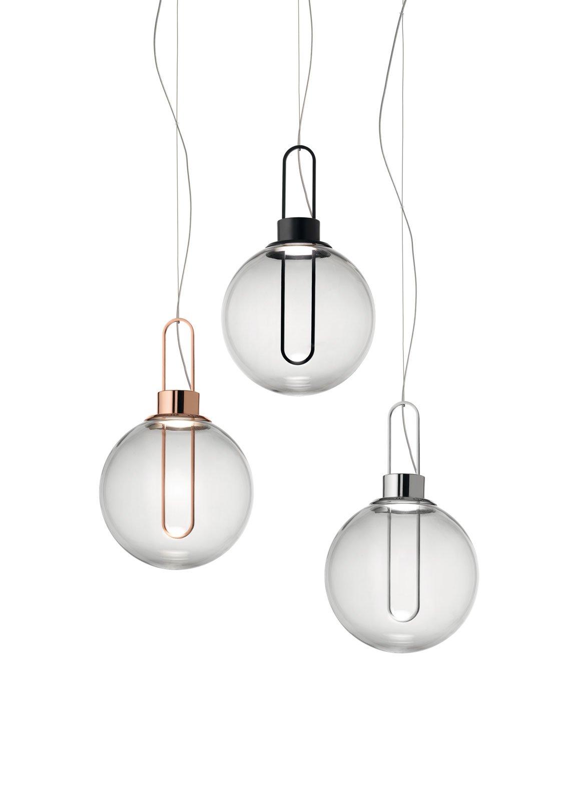 Euroluce 2015 lampadari a sospensione al salone del - Lampadari colorati design ...