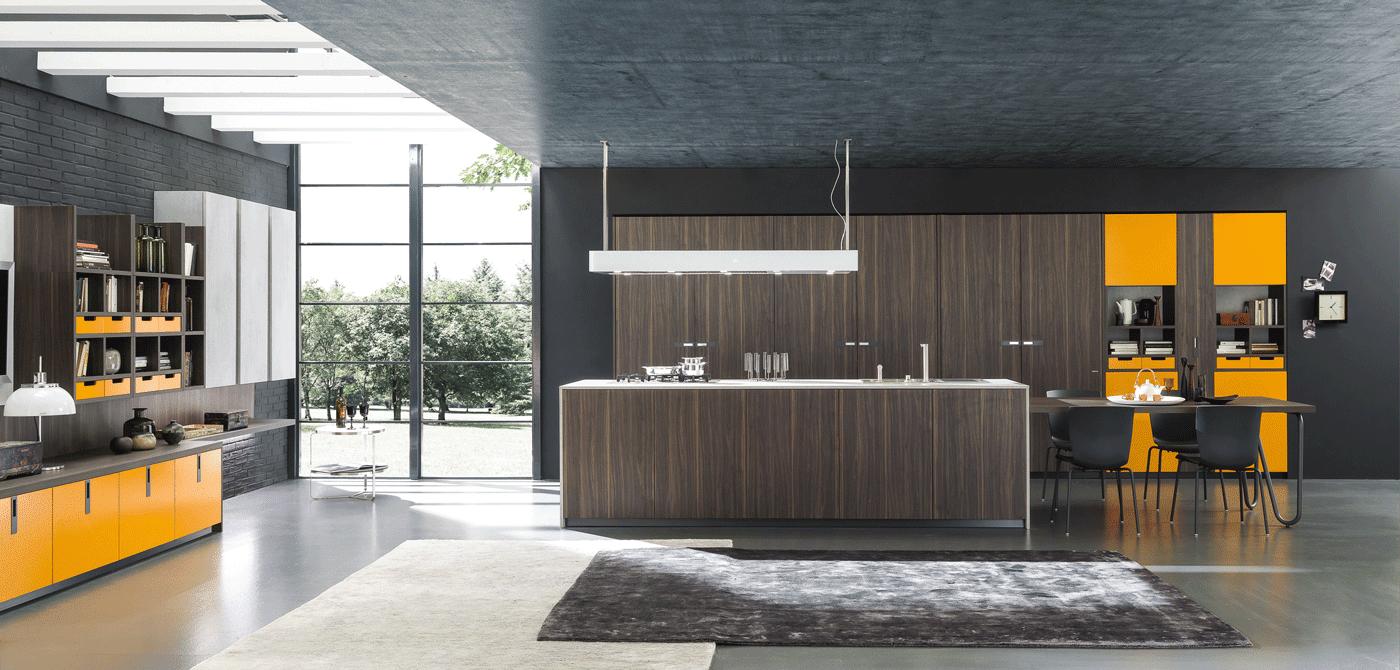 Cucine con cappa grande moderne e classiche cose di casa for Cappa design
