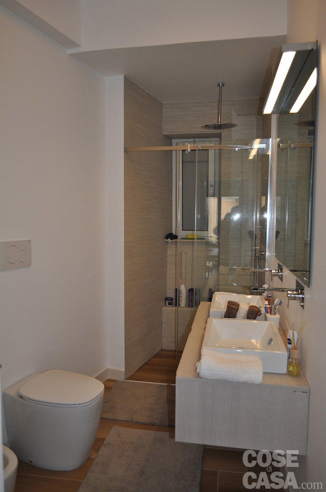 90 mq una casa da vivere in relax cose di casa for Bagno 6 mq