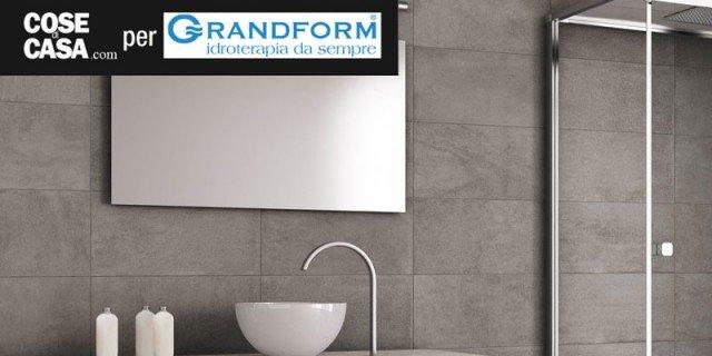 Grandform, la doccia si trasforma in una Spa