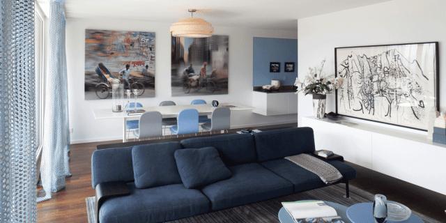 Arredare il soggiorno a tinte soft e rilassanti