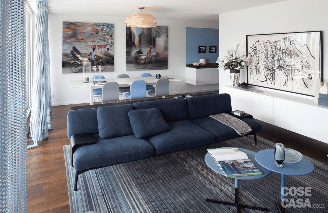 Arredare il soggiorno a tinte soft e rilassanti cose di casa for Soluzioni per soggiorno