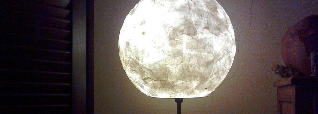 Riciclo e risparmio: lampade in carta - Cose di Casa