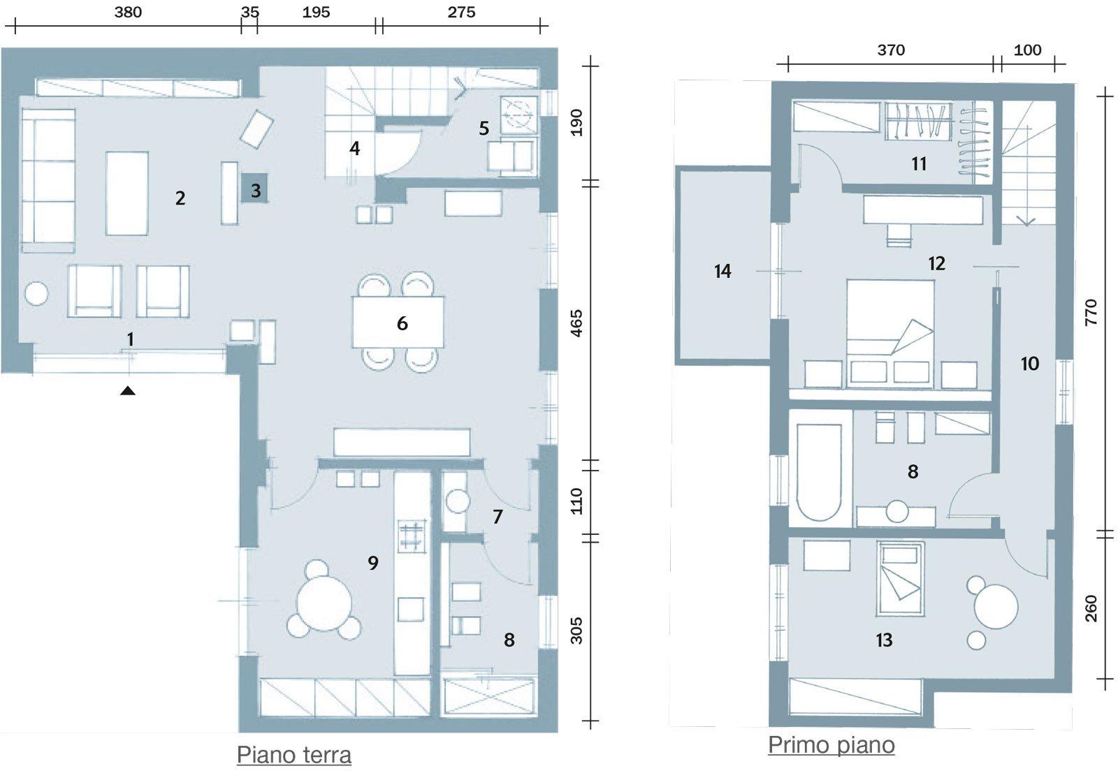 Una casa che punta sui contrasti e sul design cose di casa for 2 piani letto 2 bagni