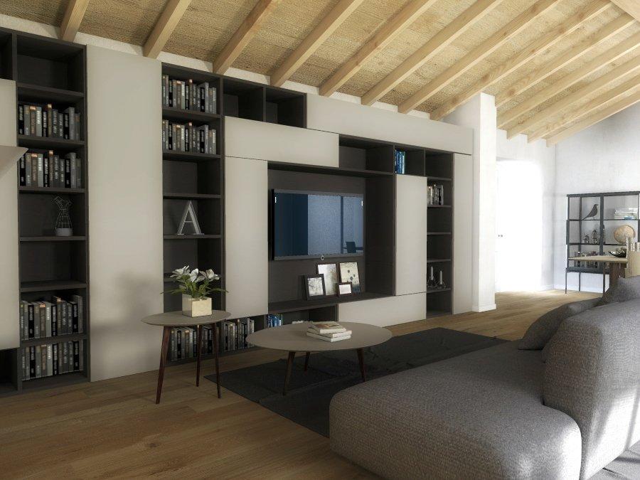 arredare il soggiorno: il design lema per un'atmosfera calda e ... - Soggiorno Living Progetto 2