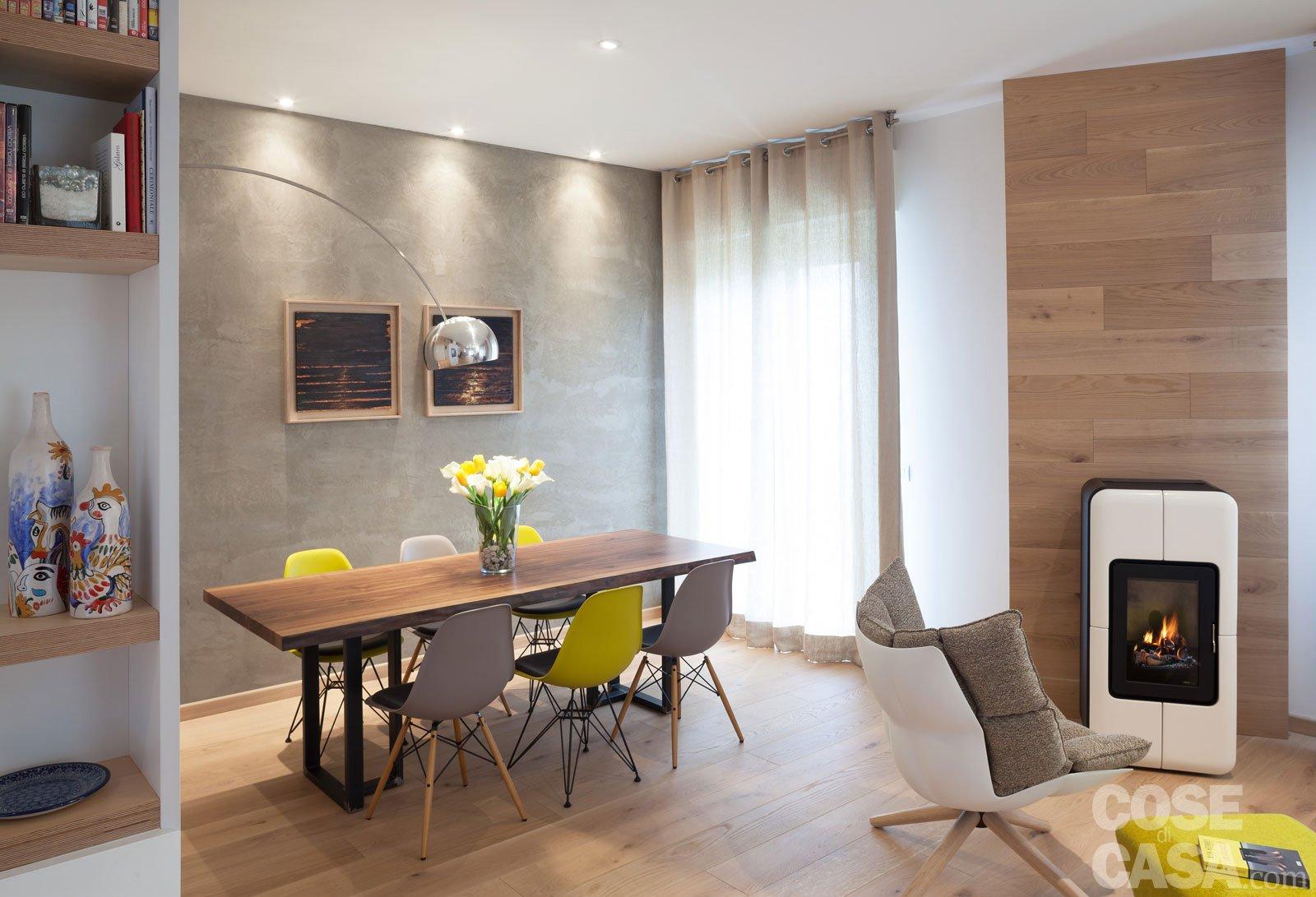 Maxi trilocale design e ispirazioni scandinave per la for Cose per casa