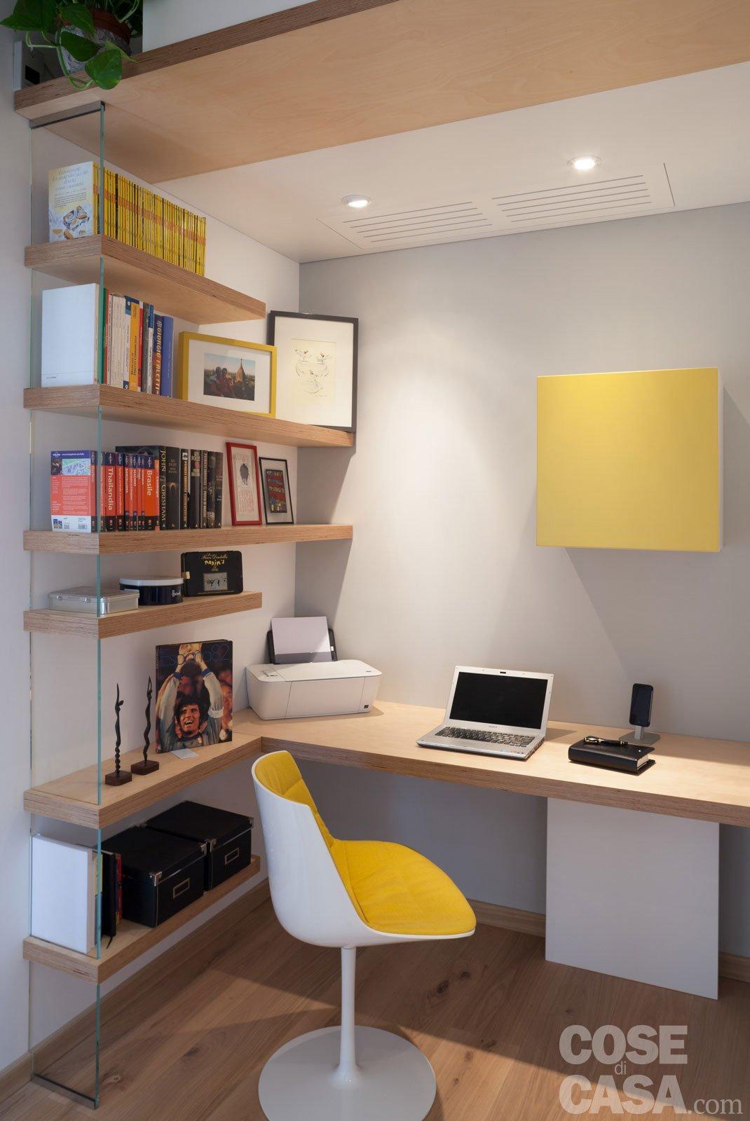 Maxi trilocale design e ispirazioni scandinave per la for Camera letto e studio