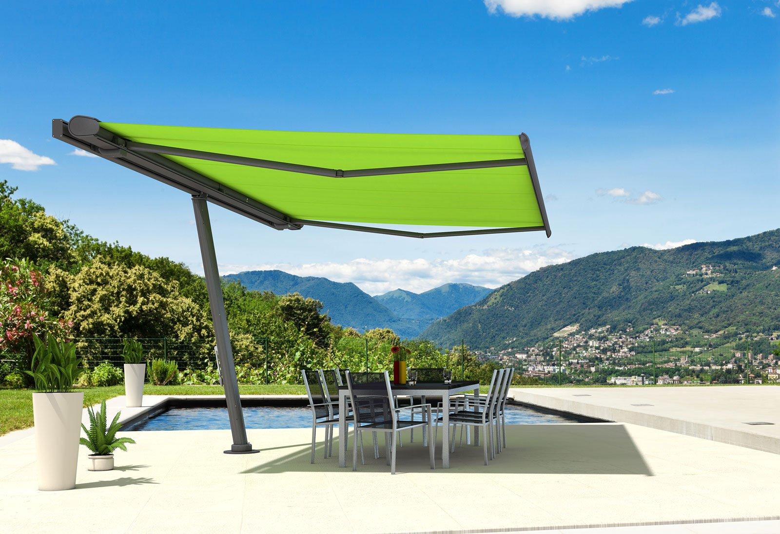 Tende e protezioni per il sole per una stanza in pi all 39 aperto al riparo dal caldo cose di - Riparazione ombrelloni da giardino ...