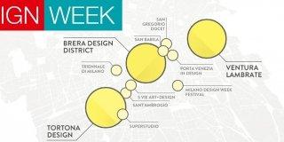 Fuorisalone 2015, la mappa degli eventi in città durante il Salone del Mobile