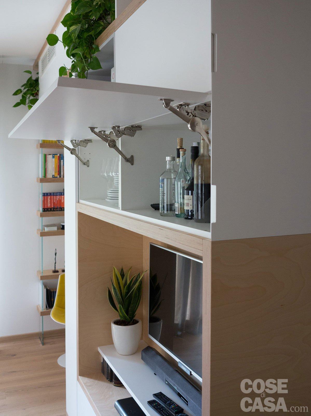 Maxi trilocale: design e ispirazioni scandinave per la casa di 125 ...