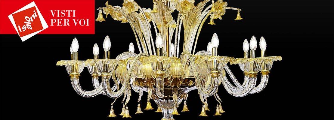 lampadari per salone classico : Euroluce 2015: lampadari a sospensione al Salone del Mobile - Cose di ...