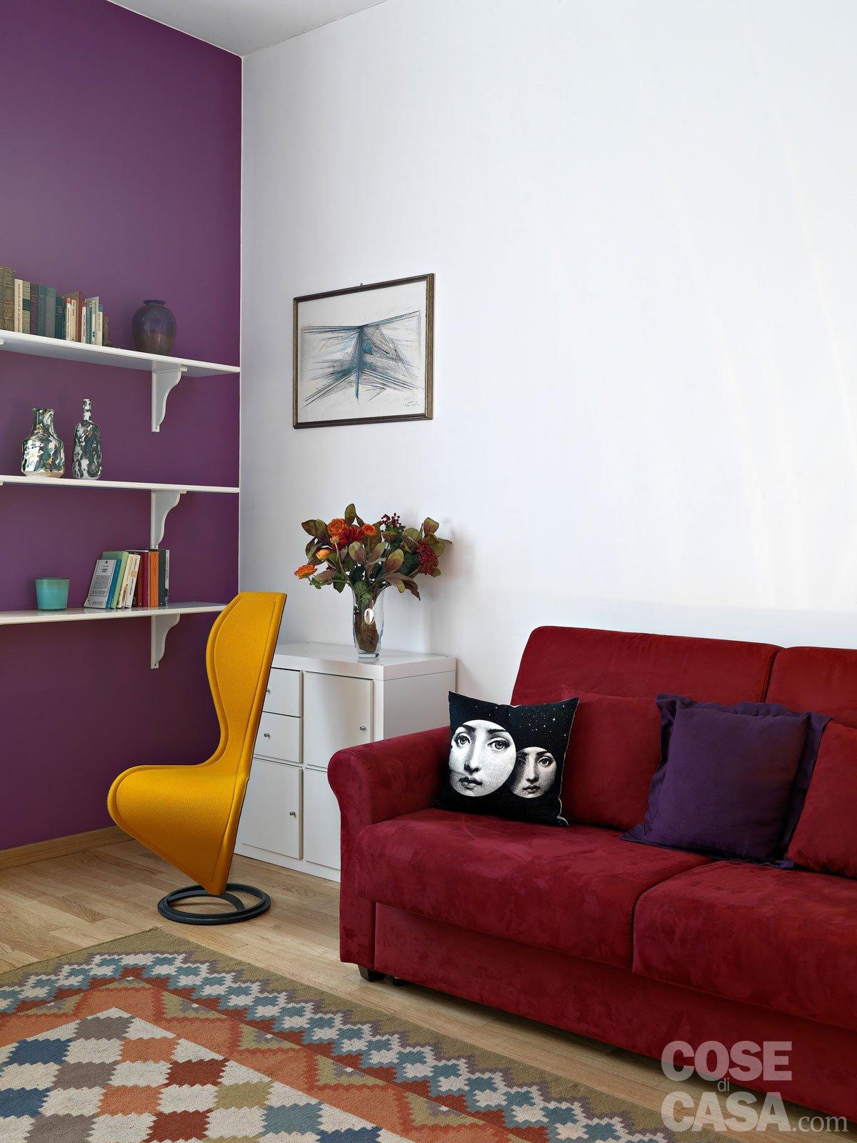 Colori Da Parete Per Camerette pitturare le pareti: i trucchi che ingannano l'occhio - cose