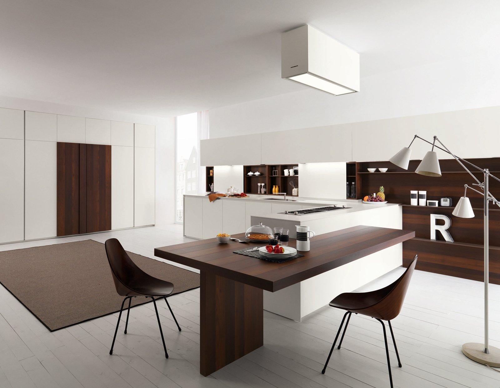 Cucine con grandi piani di lavoro cose di casa for Case moderne sotto 100k