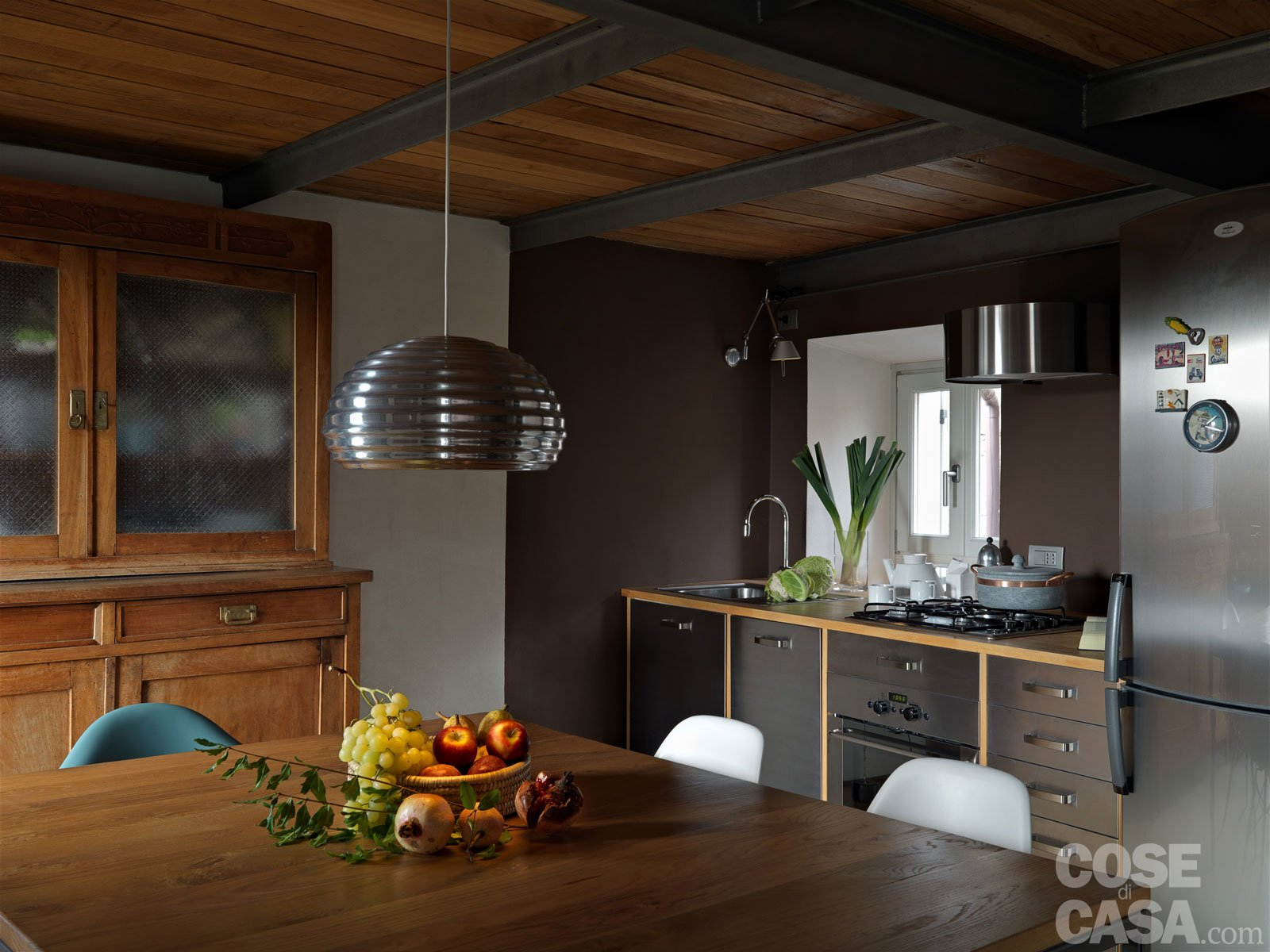 65 mq una casa che si sviluppa in verticale cose di casa for Renovation petite maison de ville