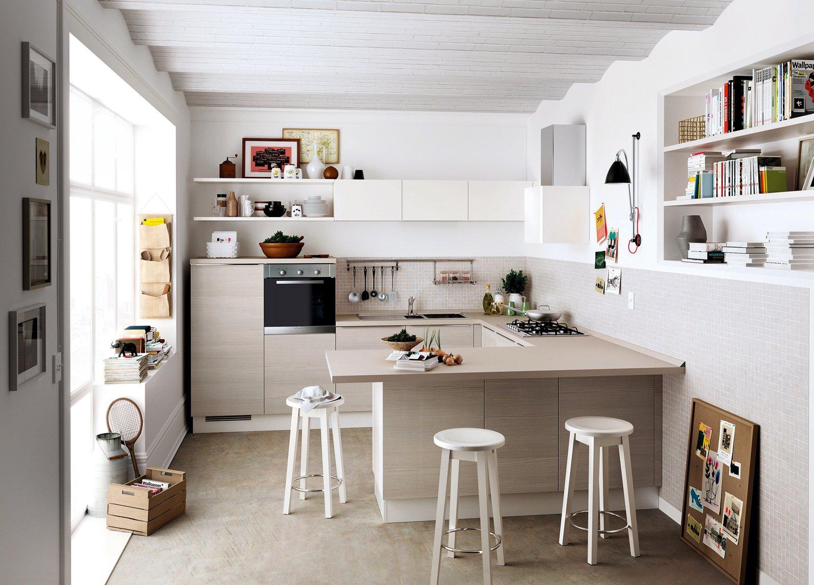 Mobili Per Cucina Piccola cucine piccole, complete di tutto quello cui non si può