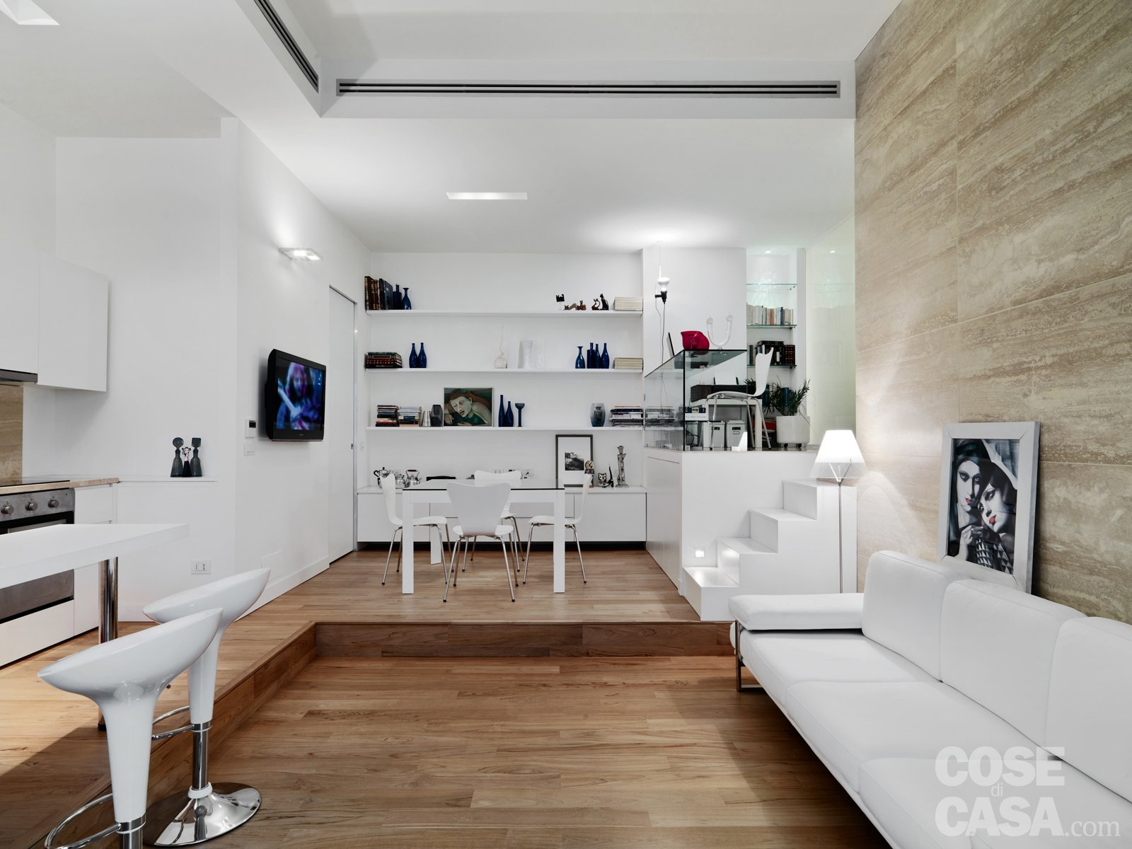 58 mq una casa sviluppata su pi livelli cose di casa