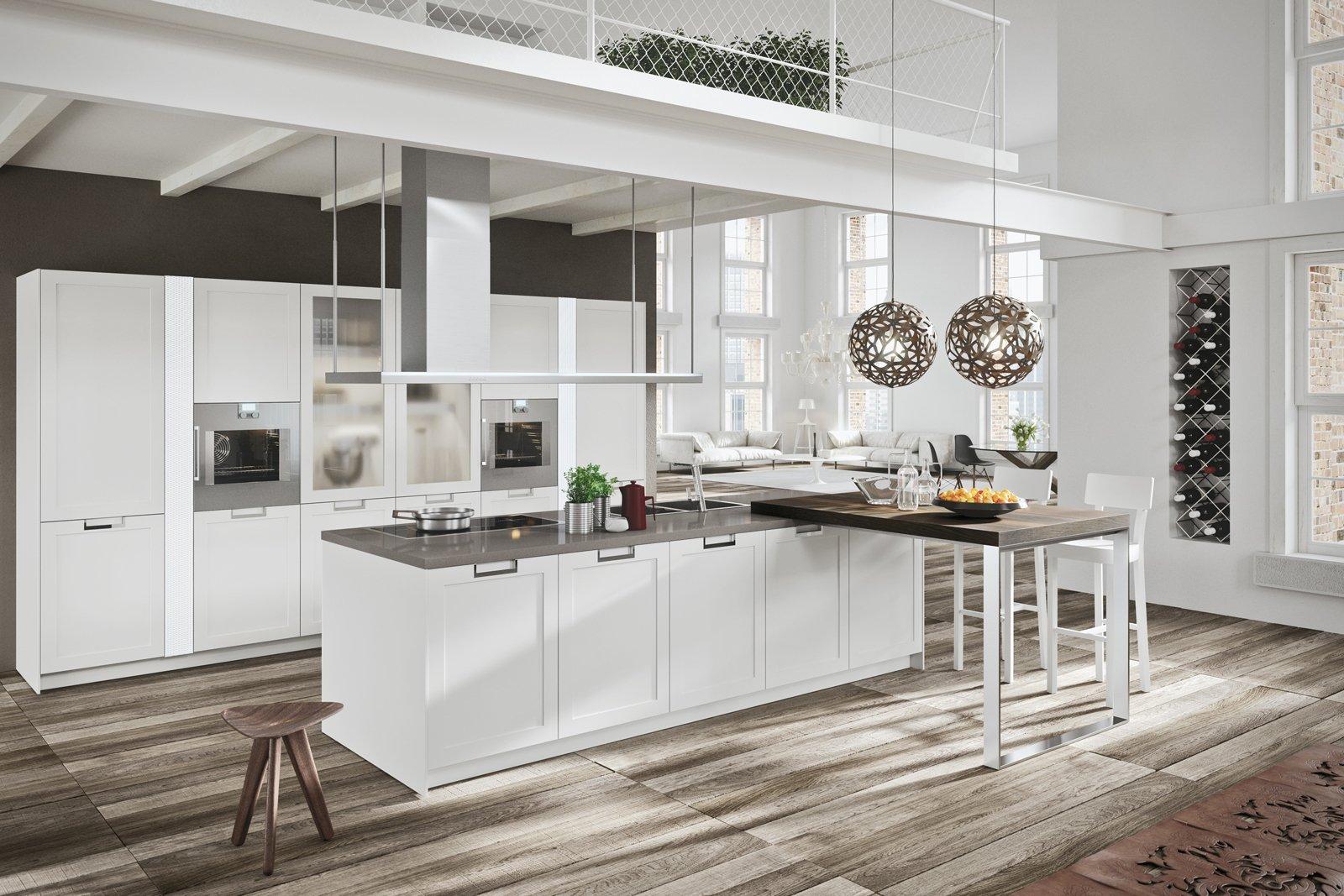 cucine country chic: soprattutto bianche o tinta legno - cose di casa - Cucine Country Bianche