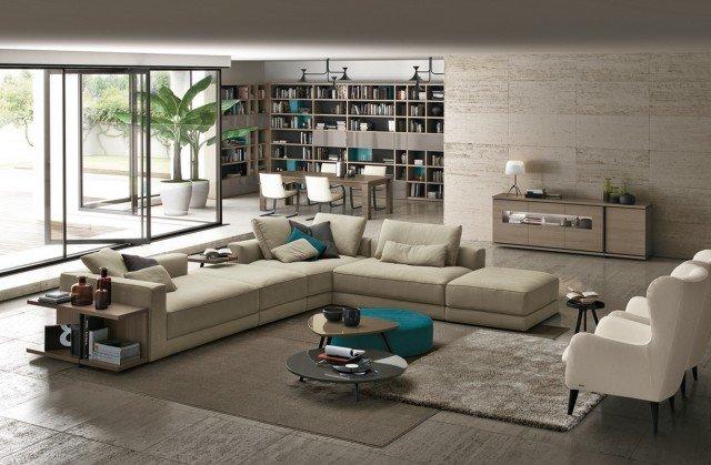 Il divano Kermesse, della linea Febal Casa Sofas, è personalizzabile con più di cento rivestimenti diversi: è possibile scegliere tra 16 tipi di tessuto, 3 tipi di pelle pelle rigenerata, ecopelle, microfibra e tantissimi colori. www.febalcasa.it