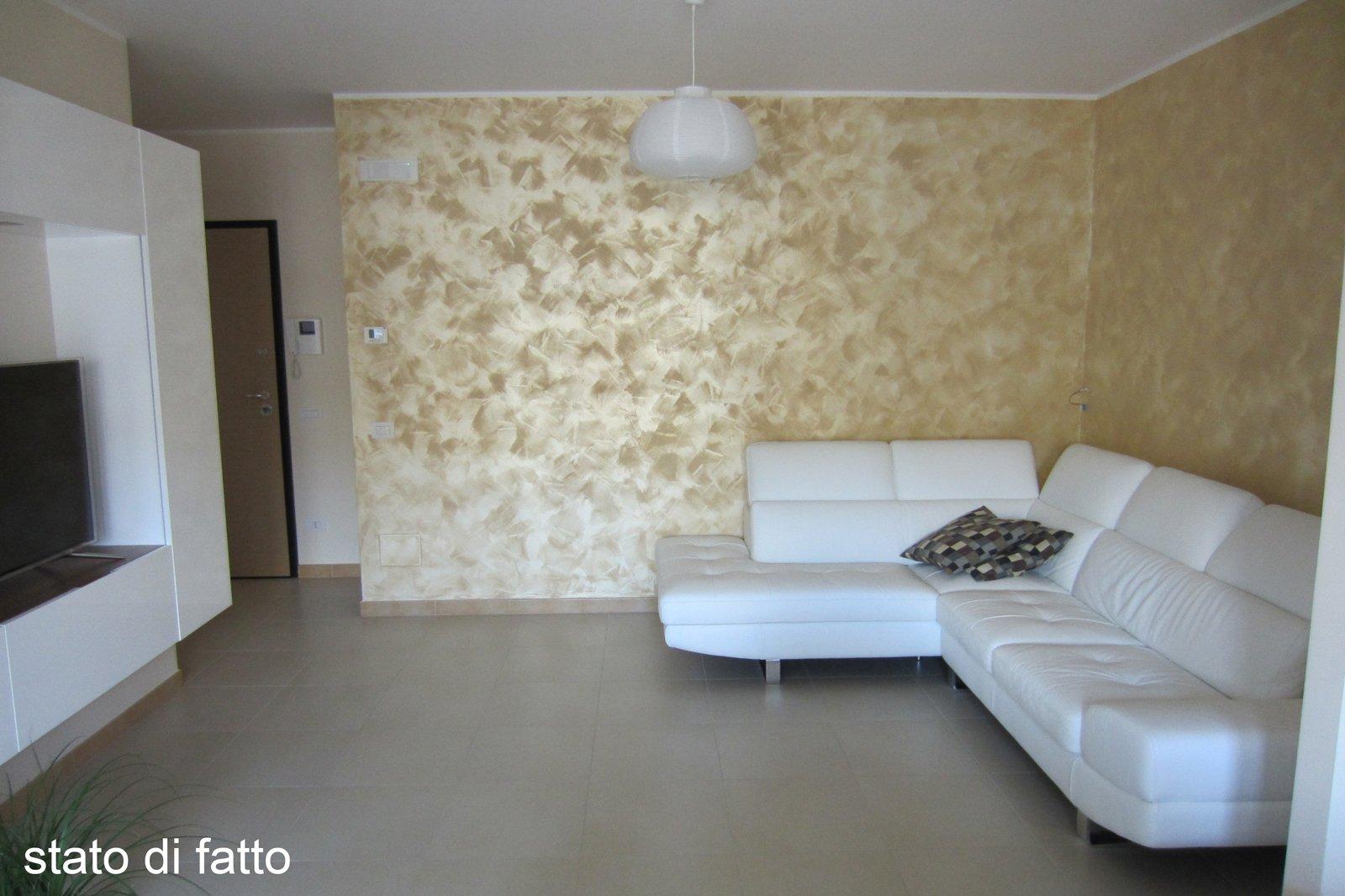 Come abbinare i colori in soggiorno tre soluzioni a - Colore per pareti soggiorno ...
