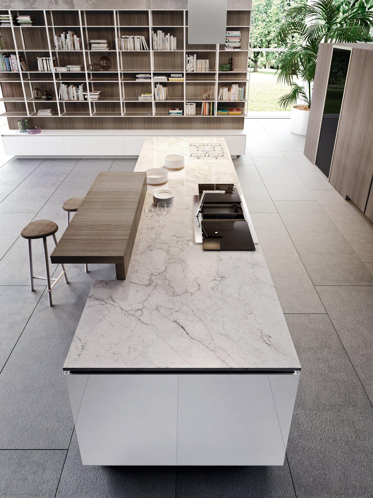 Cucine con grandi piani di lavoro cose di casa for Designer di piani di pavimenti online