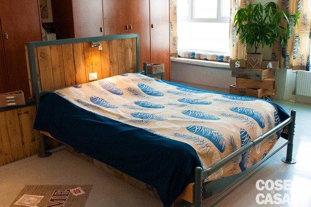 Da vecchio laboratorio a casa con atmosfere da loft for 3 piani di casa camera da letto