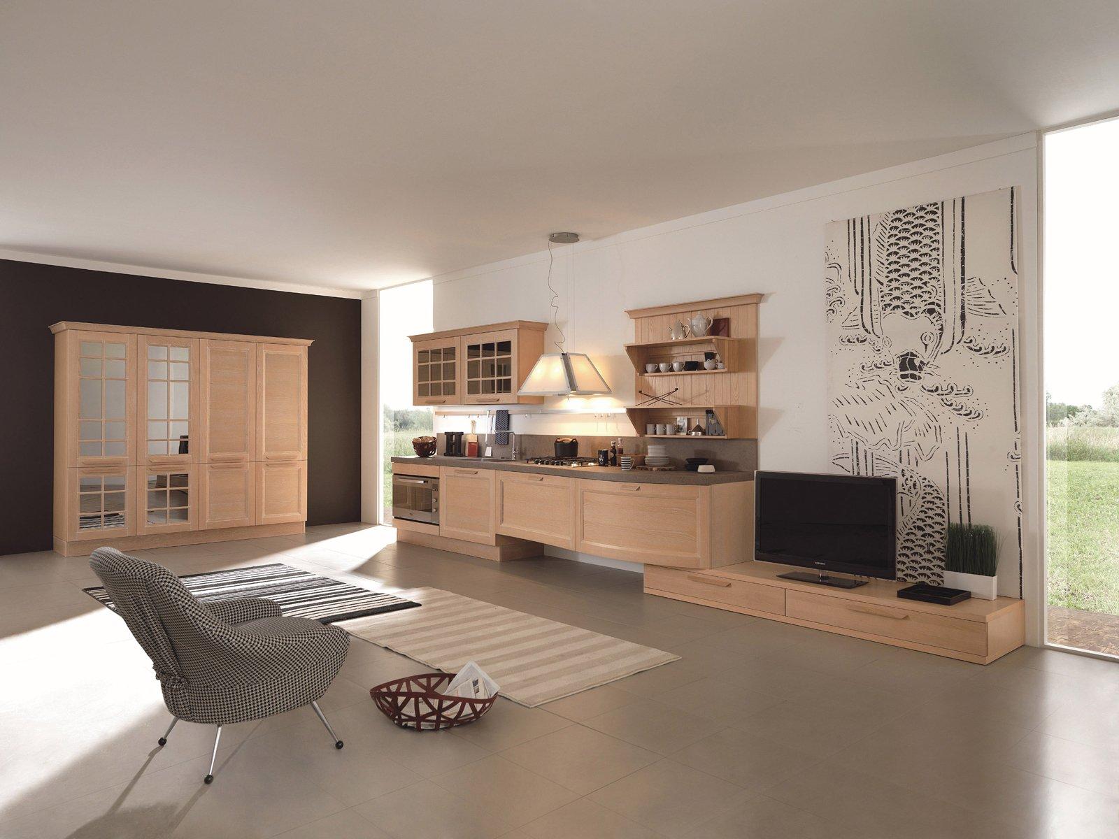 cucine country chic soprattutto bianche o tinta legno cose di casa. Black Bedroom Furniture Sets. Home Design Ideas