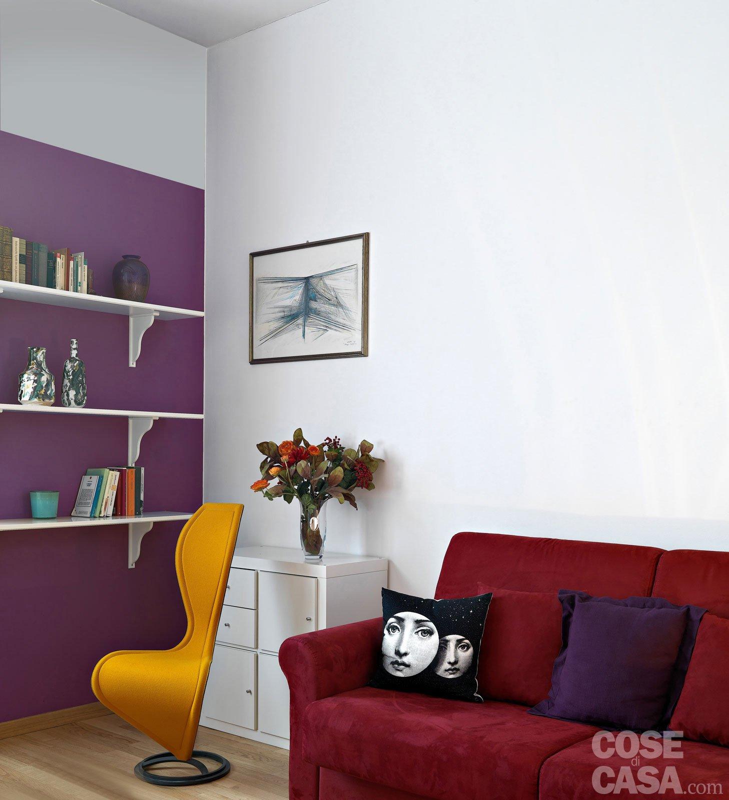 Pitturare le pareti i trucchi che ingannano l occhio for Immagini salotto