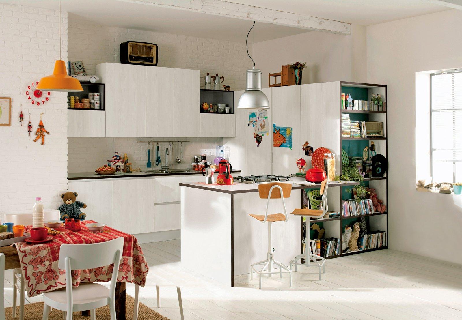 Cucine piccole complete di tutto quello cui non si pu for Immagini per cucina