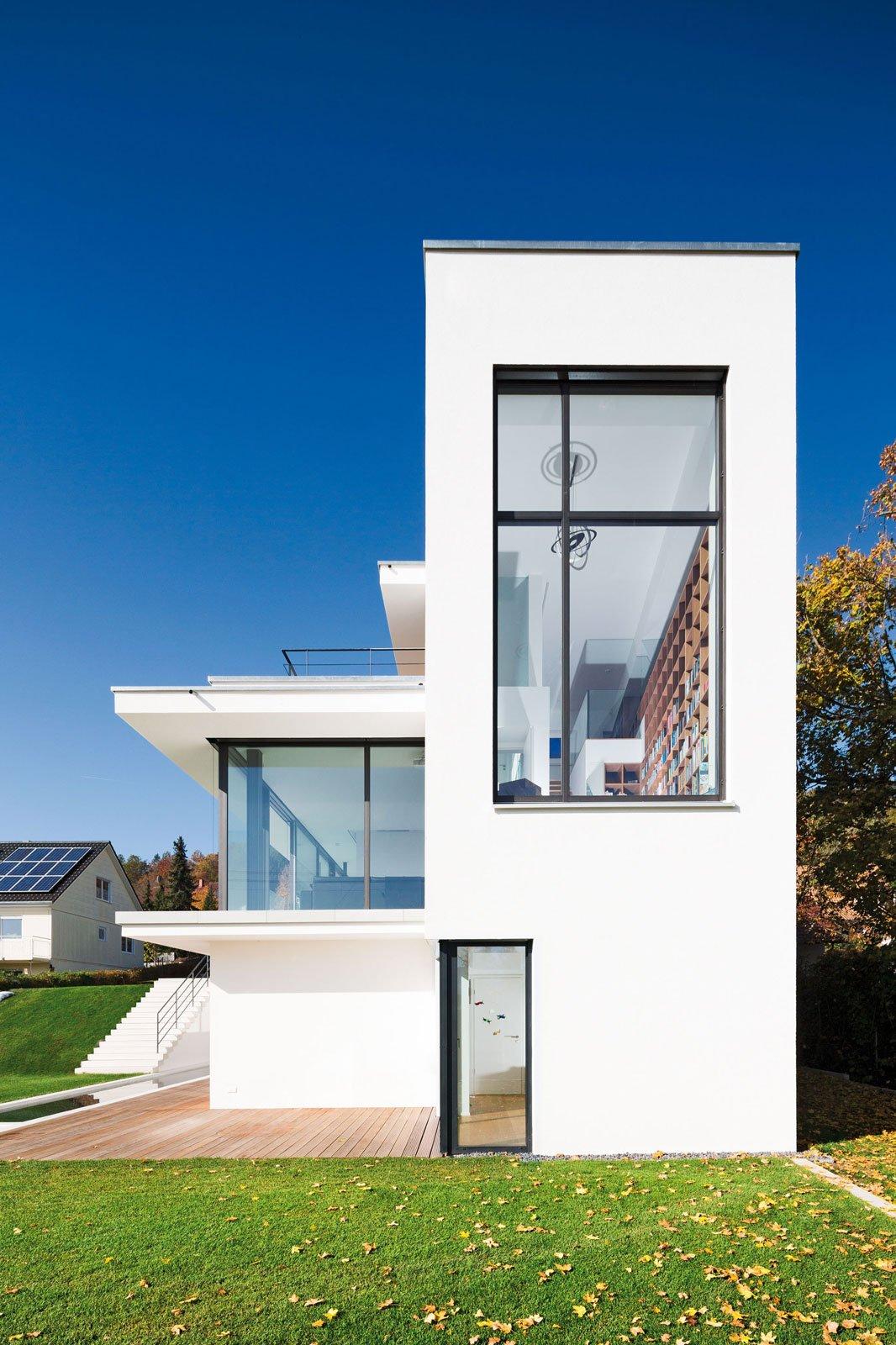 Interni luminosi e massima protezione da caldo e freddo - Philipp architekten ...