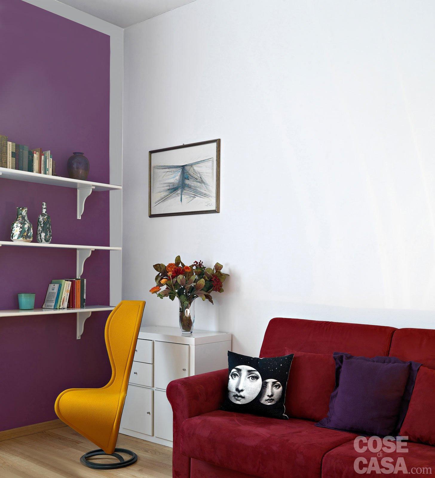 Pareti Pitturate A Fasce pitturare le pareti: i trucchi che ingannano l'occhio - cose