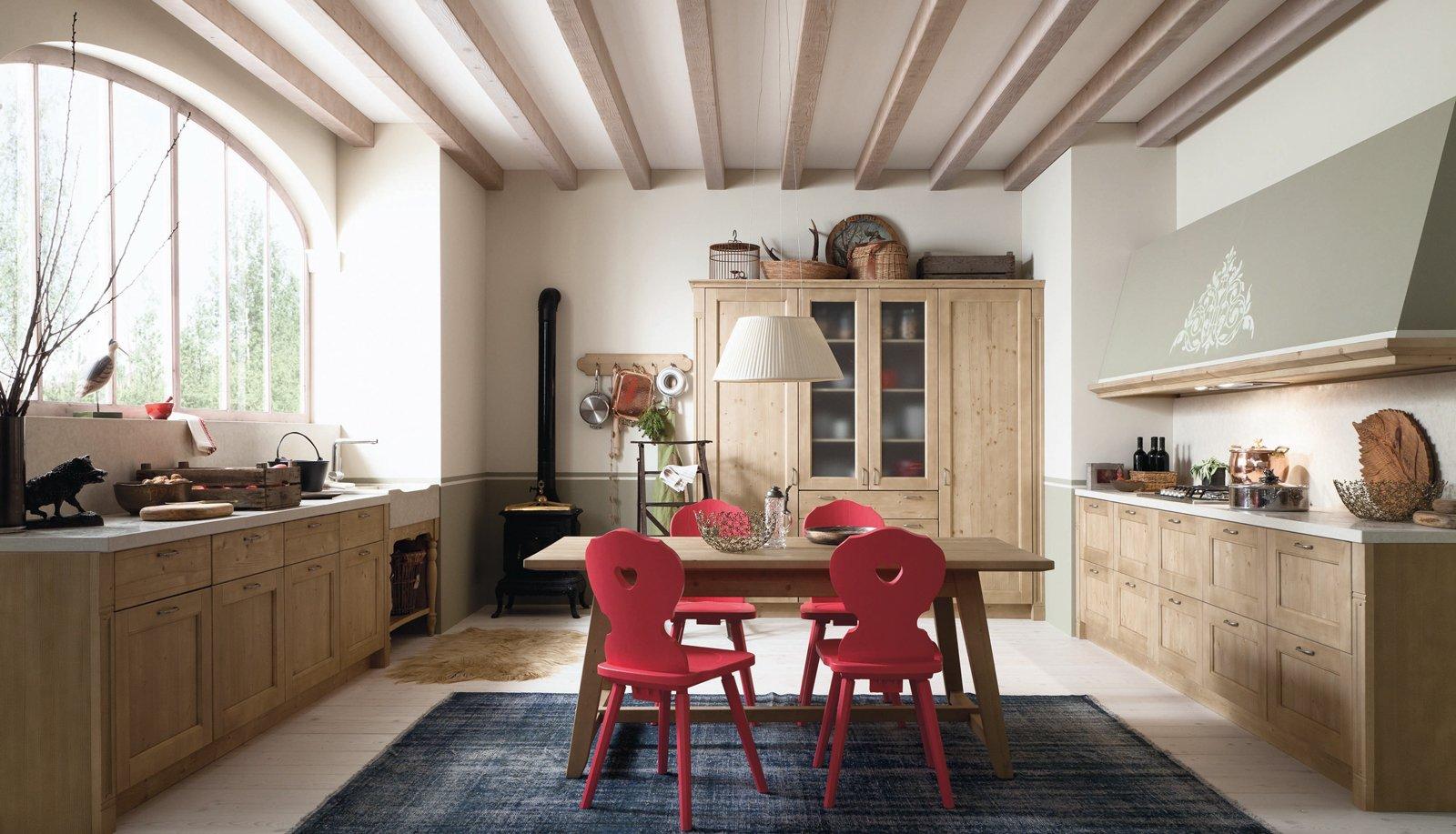 Cucine country chic soprattutto bianche o tinta legno - Immagini di casa ...